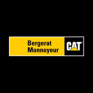Minikoparki Caterpillar - Bergerat Monnoyeur